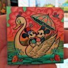 Disney WonderGround Mickey & Minnie Mouse Lazy Afternoon Magnet Dave Quiggle New