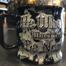 Universal Studios Harry Potter Voldemort He Who Must Not Be Named Ceramic Mug