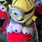 "Universal Studios Exclusive Despicable Me Minion Roller Coaster 10"" Plush Stuart"