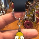 Universal Studios Exclusive The Simpson Homer Sprinkle Donut Keychain New