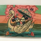 Disney WonderGround Mickey & Minnie Mouse Lazy Afternoon Postcard Dave Quiggle