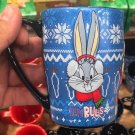 Six Flags Magic Mountain Looney Tunes Holiday Christmas Mug Bugs Tweety & Taz