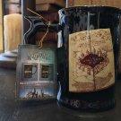 Universal Studios Exclusive Harry Potter Marauder's Map Heat Reactive Coffee Mug
