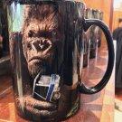 Universal Studios Exclusive King Kong 360 3-D The Ride Ceramic Coffee Mug New