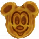 Disney Parks Exclusive Iconic Mickey Mouse 3-D Face Waffle Magnet New