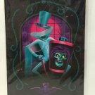 Disney WonderGround Haunted Mansion Hatbox Ghost Postcard by Jeff Granito New