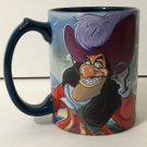 DISNEY PARKS EXCLUSIVE PETER PAN'S CAPTAIN HOOK AT SKULL ROCK CERAMIC MUG NEW