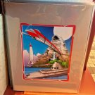Disney Parks Monorails, Bobsleds, Rockets, and Subs Print By Craig Fraser New