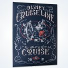Disney Cruise Line 2018 Feat. Mickey Mouse Large Photo Album New