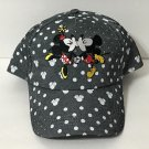 Disney Parks Mickey and Minnie Mouse True Love's Kiss Baseball Cap Hat New