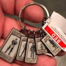Disney Parks Marvel Guardians of the Galaxy Mission Breakout Metal Keychain New