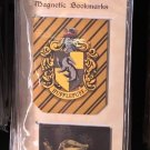 UNIVERSAL STUDIOS EXCLUSIVE HARRY POTTER HUFFLEPUFF MAGNETIC BOOKMARKS NEW