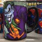 Six Flags Magic Mountain Dc Comics The Joker Ceramic Mug New