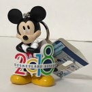 Disneyland Resort 2018 Mickey Mouse Figure Keychain The Year To Be Here New