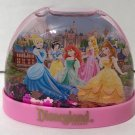 DISNEY PARKS DISNEYLAND RESORT DISNEY PRINCESSES PINK SNOW GLOBE NEW