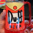 Universal Studios Exclusive The Simpsons Duff Beer Large Mug New