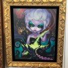 Disney WonderGround Ursula LE Framed Giclee by Jasmine Becket-Griffith New