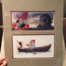 Disney Parks Peter Pan's Captain Hook and Smee Deluxe Print by Randy Noble New