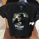 Universal Studios Exclusive King Kong 360 3D The Ride T-Shirt Small New