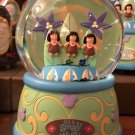 Disney Parks It's A Small World Wind Up Musical Snow Globe New