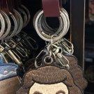 Universal Studios Wizarding World of Harry Potter Rubeus Hagrid Patch Keychain