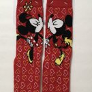 Disney Parks Mickey and Minnie Mouse Youth Socks New