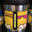 Universal Studios The Simpsons Travel Tumbler Coffee Mug