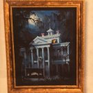 Disney Parks Haunted Mansion LE Giclee on Canvas by George Scribner New