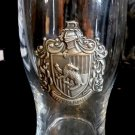 Universal Studios Exclusive Harry Potter Hufflepuff Crest Glass Cup New