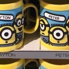 Universal Studios Minions Despicable Me Kid Mug (Paulina-Payton-Peter-Quinn)