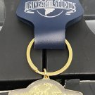 Universal Studios Gold Finish Golden Letters Metal Keychain New