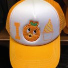 Disney Parks Orange Bird Mesh Trucker Snapback Cap Hat New with Tag