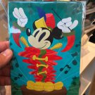 "Disney WonderGround Band Leader Mickey Mouse ""Overture"" Postcard by Matt Hawkins"