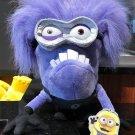 "Universal Studios Minion Mayhem Despicable Me Evil Purple Minion 11"" Plush New"