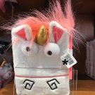 Universal Studios Despicable Me Fluffy Unicorn Journal and Pen New