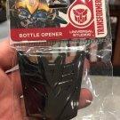 Universal Studios Transformers Decepticons Logo Bottle Opener / Magnet New
