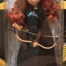 "Disney Store Disney Parks Merida 12"" Princess Doll with Bow and Arrow Brave New"