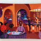 Disney Shag Star Wars A Wretched Hive Cantina Aluminum Tray Art by Shag (New)