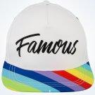 Disney Parks Loungefly Inside Out Rainbow Unicorn Unisex Baseball Cap Hat New