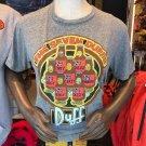 Universal Studios The Simpsons The Seven Duffs Beer T-Shirt Adult Women XXLarge