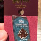 Universal Studios Wizarding World of Harry Potter Peppermint Toads Pin New