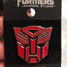 Universal Studios Exclusive Transformers Retro Autobots Logo Trading Pin New