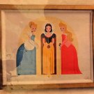 Disney Parks Thee Three Graces LE Giclee on Canvas Stephen Cargile New