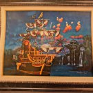 Disney Parks Peter Pan's Captain Hook's Gallery LE Giclee by James Crouch New