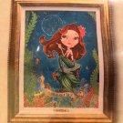 Disney Parks The Little Mermaid Ariel Imagine LE Giclee on Canvas John Coulter