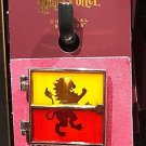 Universal Studios Wizarding World of Harry Potter Gryffindor Two Tone Glass Pin