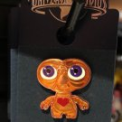 Universal Studios E.T. Glowing Heart Trading Pin New on Card
