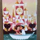 Disney WonderGround The Fanciest Cruise On Earth Postcard by Ann Shen New