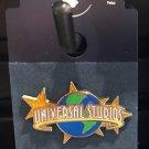 Universal Studios Exclusive Universal Studios Logo w/ Stars Trading Pin New