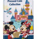 Disneyland Resort Pressed Coin Collection Book Disney Wallet Album Holds 65